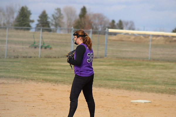 Durand Softball vs Boyceville, April 27, 2018