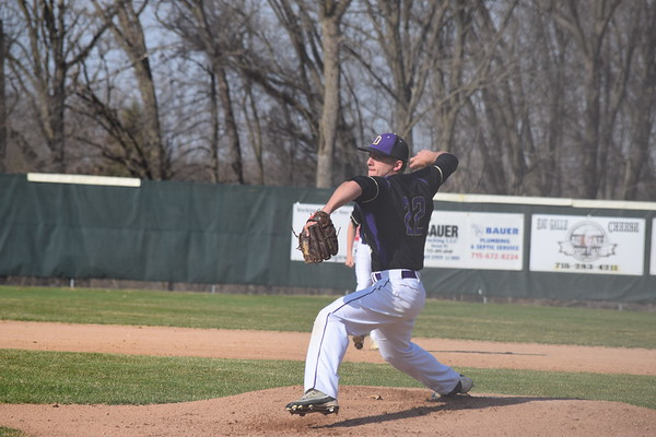 Durand baseball vs. Elk Mound April 30, 2018