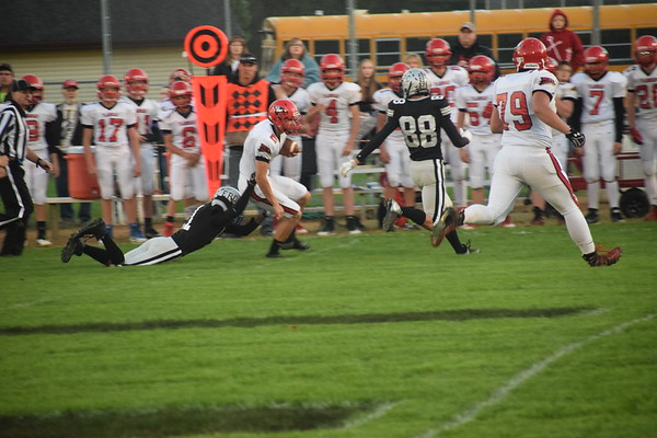 EPC football vs Flambeau  Sept. 21, 2018
