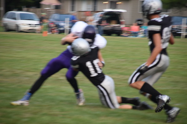 EPC football vs Independence-Gilmanton 8-17-2018
