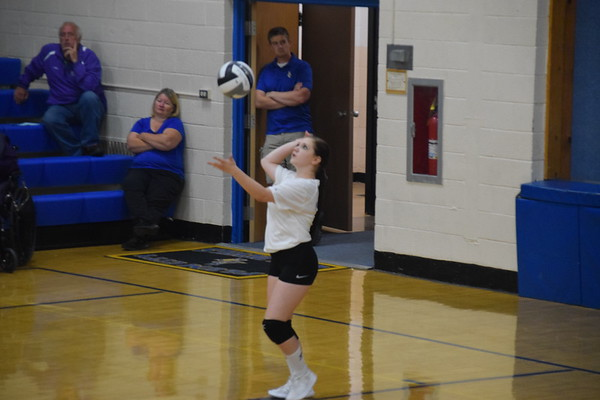 Plum City Varsity volleyball vs. Ellsworth, Aug. 28, 2018