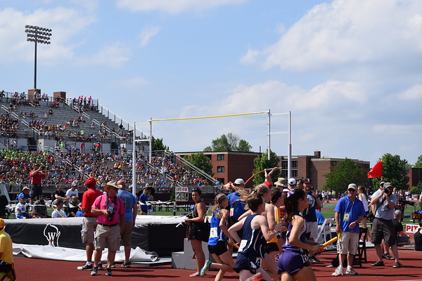 State Track and Field 2018 for Durand, EPC, and AP