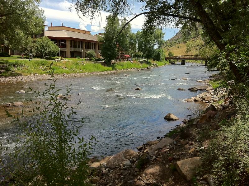 Animas River, downtown Durango, Colorado