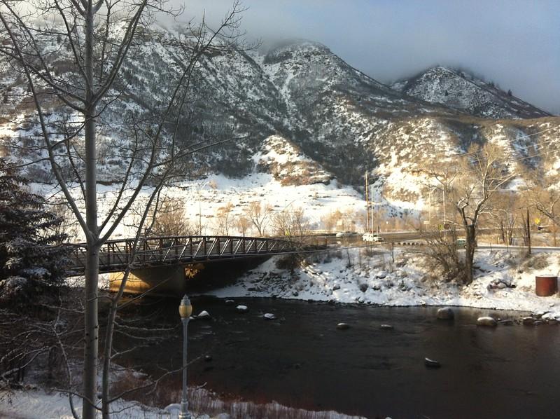Animas River behind the DoubleTree in Durango, Colorado
