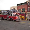 Homecoming parade downtown Durango, Colorado