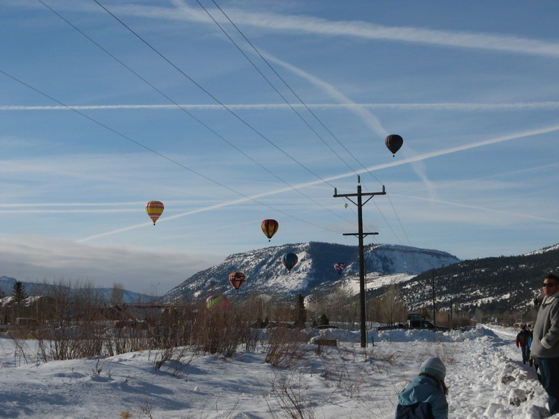 1994 Snowdown Balloon Ascension Jan 2010