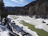 80 The Animas River a frozen wonderland