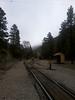 13 The train tracks run by it across the Animas river