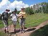 31 Bruce, Wayne and Bob at the trail junction