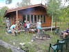 46 Cookout at the Ward cabin