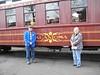 36 Before boarding the Alamosa Parlor Car