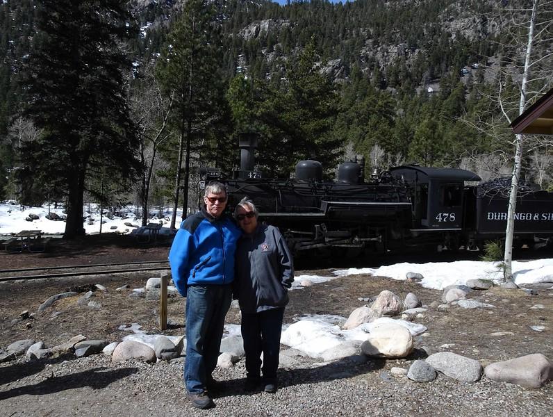 78 Bruce and Sue at Cascade Canynon