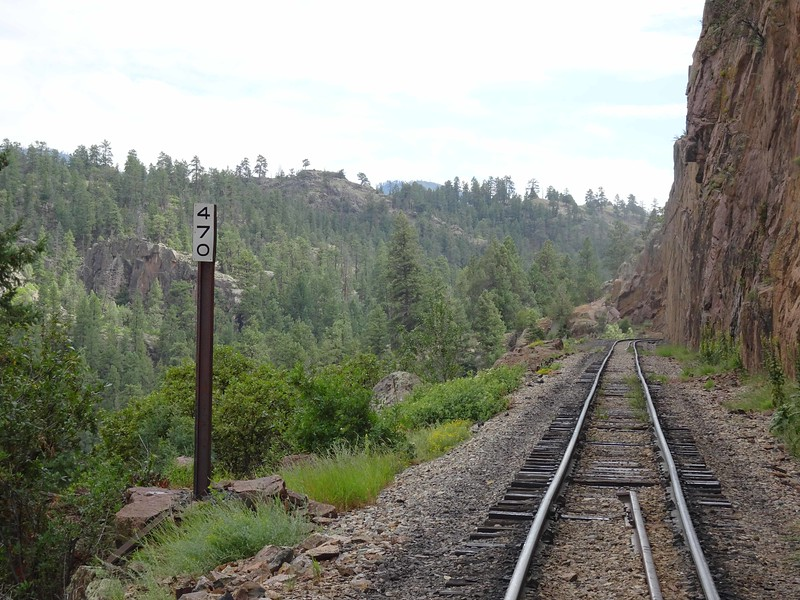 51 It was 470 miles to Denver by rail
