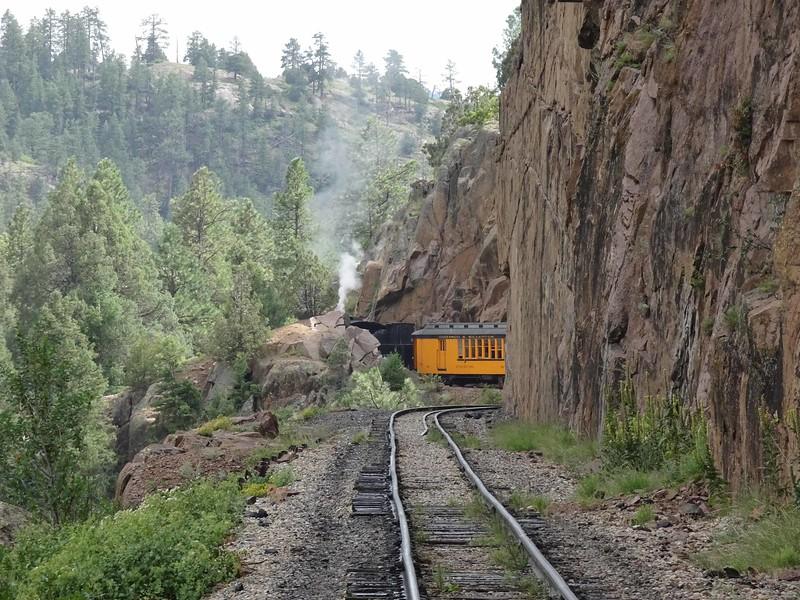 49 Train ahead heading back to Durango
