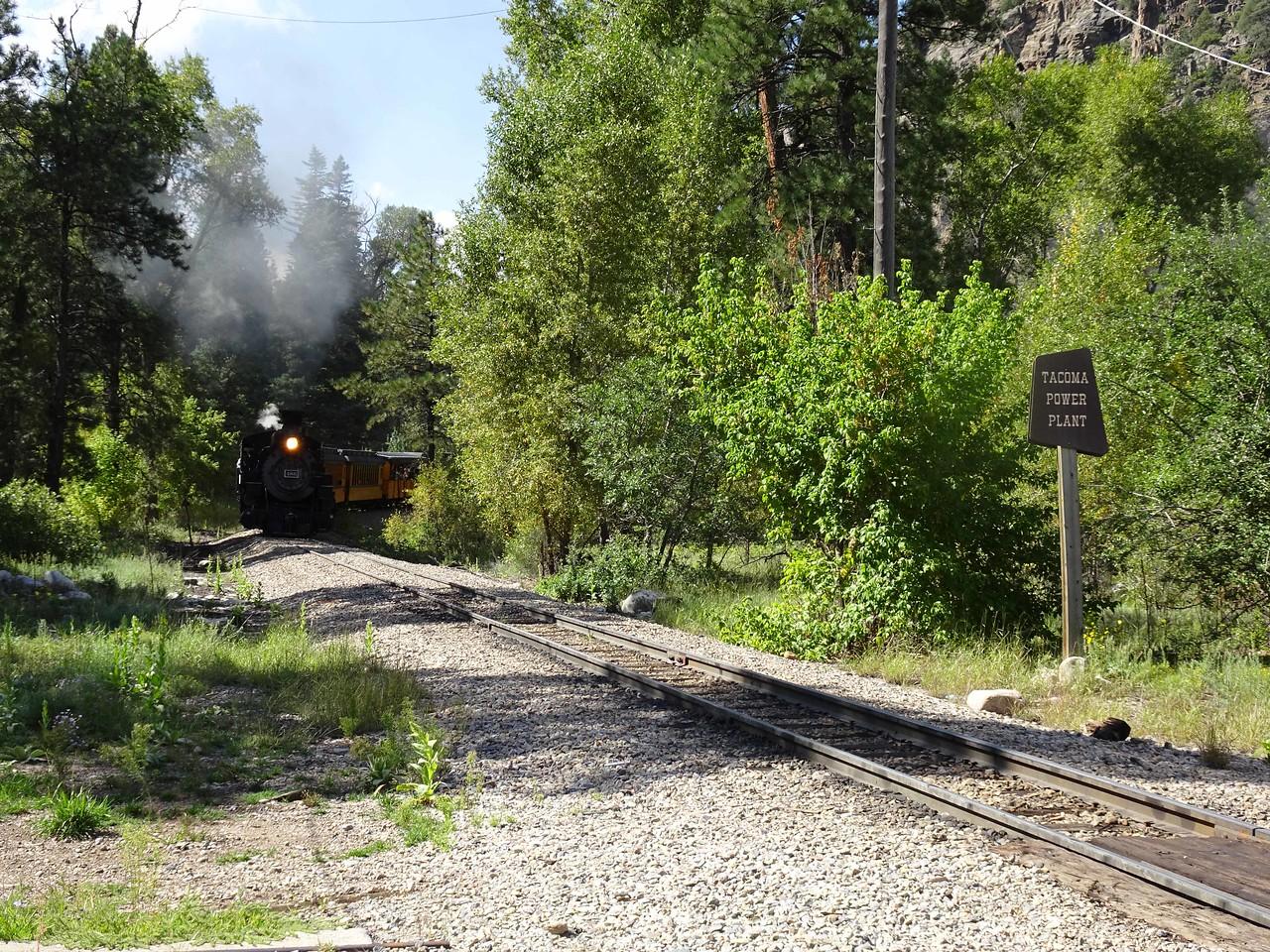 66 Here comes the train