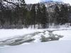 42 Beautiful, partially frozen river