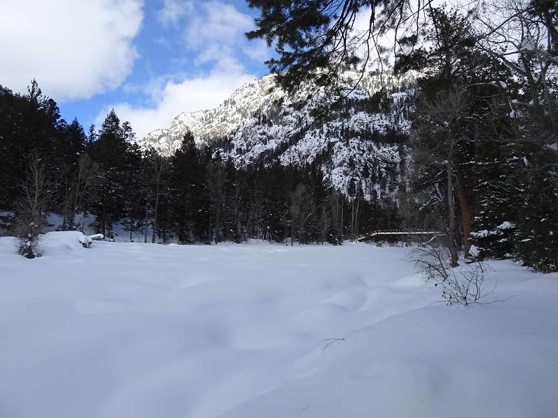 48 The Animas River is frozen over at Cascade Canynon