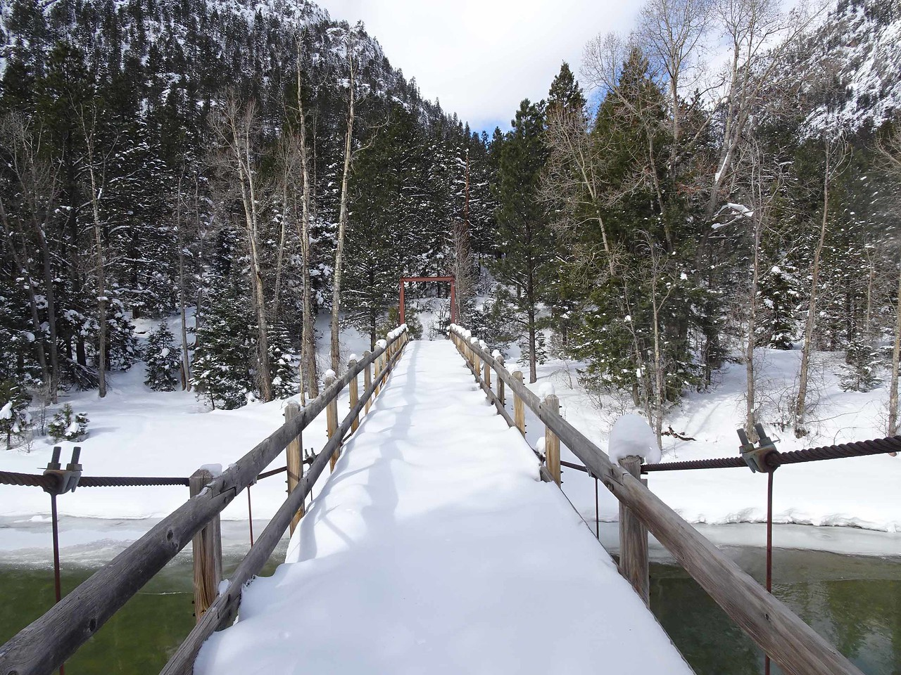 43 Footbridge at Cascade Canyon