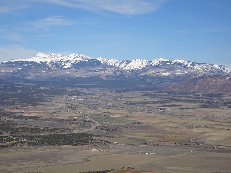 64 La Plata Mountains behind