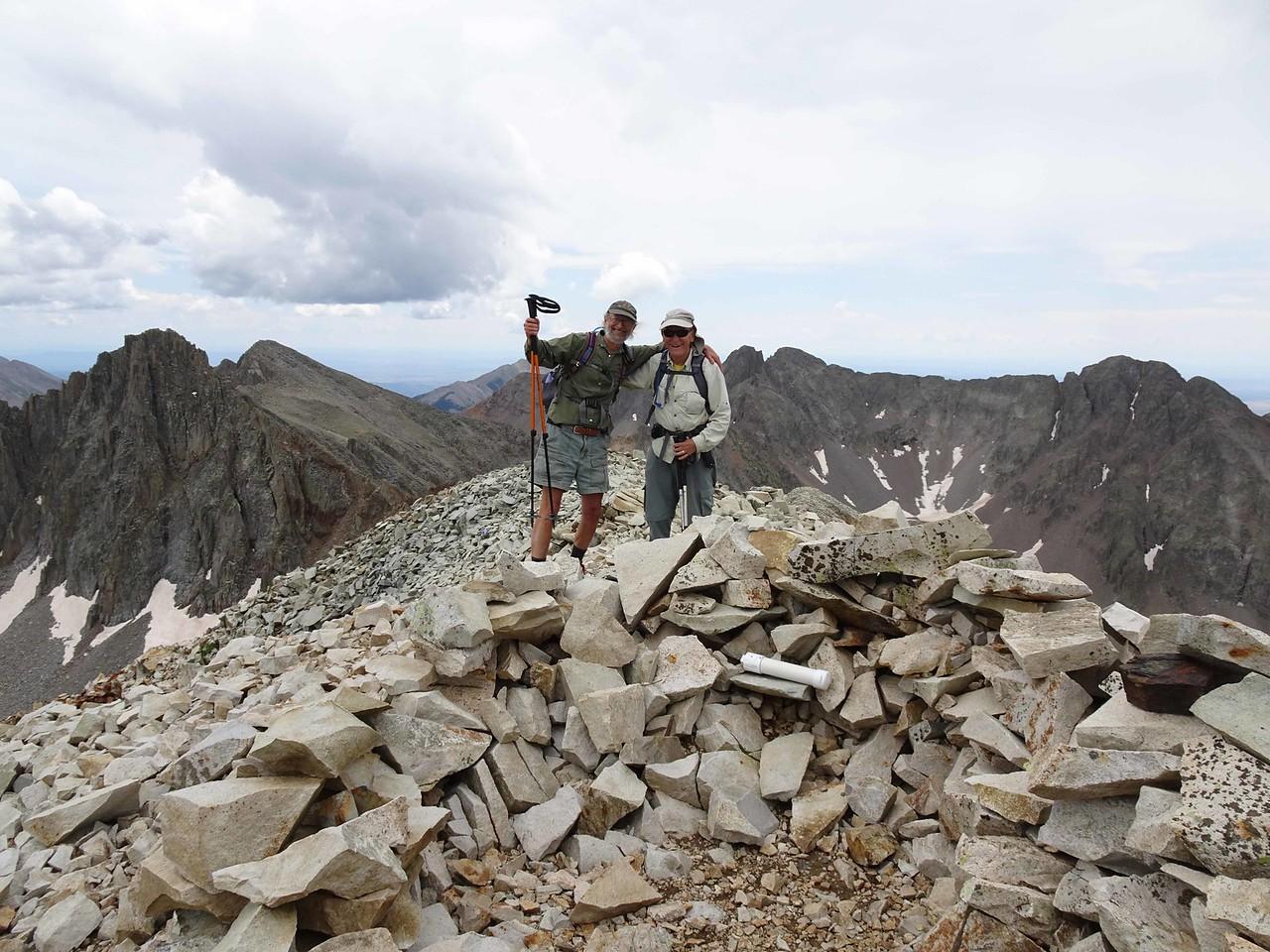 77 Steve and Wayne on the summit