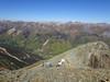 696 Hiking north along Brown Ridge