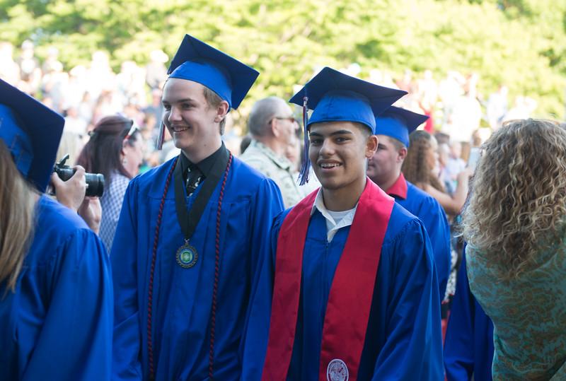 Durham High graduation ceremony, May 31, 2018,  in Durham, California. (Carin Dorghalli -- Enterprise-Record)