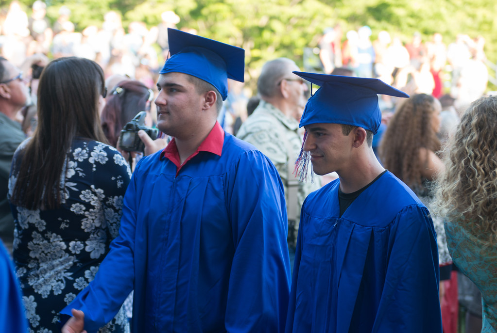 . Durham High graduation ceremony, May 31, 2018,  in Durham, California. (Carin Dorghalli -- Enterprise-Record)