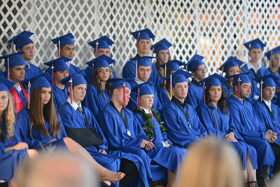 Durham High graduation ceremony, May 31, 2018,  in Durham, California. (Carin Dorghalli -- Enterprise-Record)