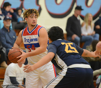 Durham hosts Gridley in the first game of the annual Herb Jergentz tournament Thursday November 30, 2017 in Durham, California. (Emily Bertolino -- Enterprise-Record)