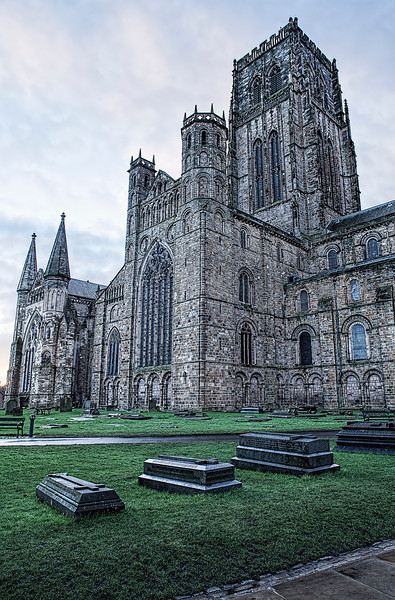 Side view of Durham Cathedral
