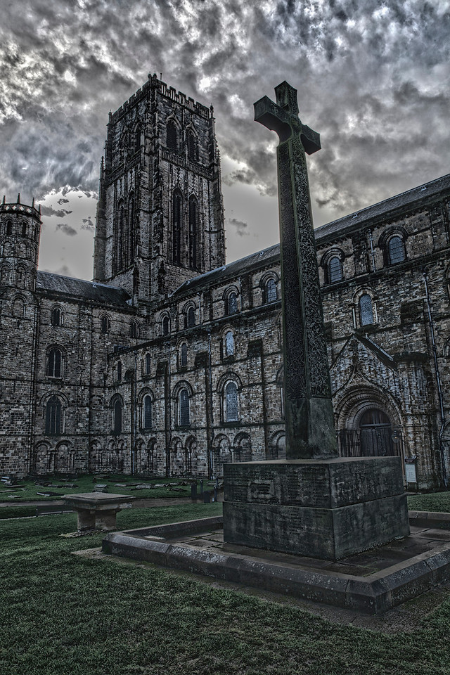 Surreal view of Durham Cathedral
