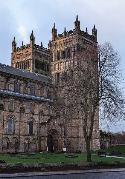Entrance to Durham Cathedral