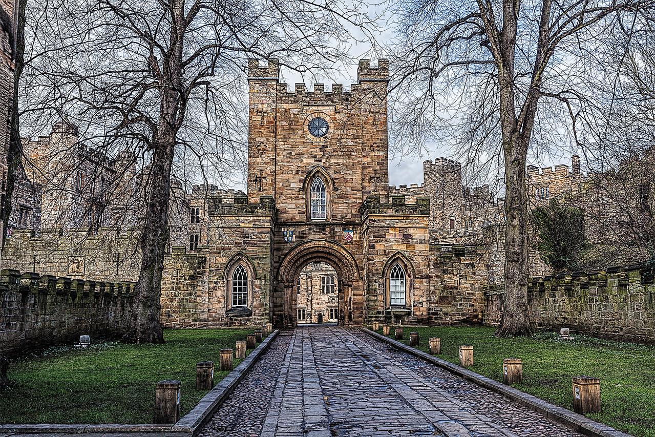 Entrance to Durham Castle