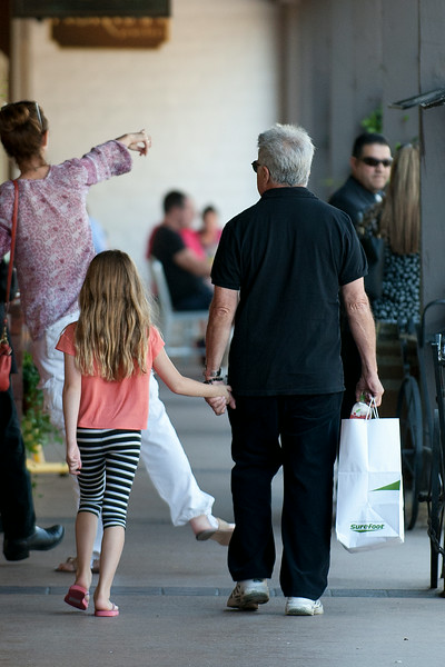 Dustin Hoffman seen in Brentwood