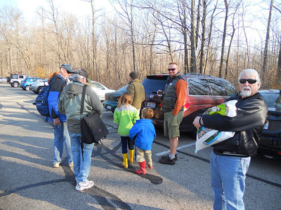 Thanksgiving Day Hike 2012