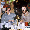 Back in '84, Chuck Slusarczyk (CGS Aviation), Gary Grisinger and I took a Japanese client out for dinner to celebrate the sale of five Hawk airplanes to them. This was, obviously, rather late in the evening. Cool time. Any distortion is caused by time. This is a scanned photo.