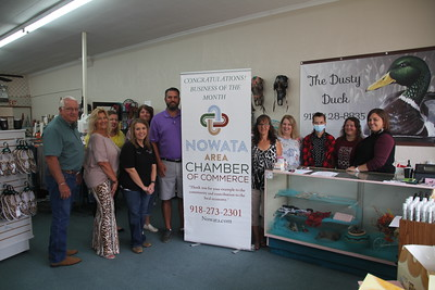 IMG_6730 JPG dusty duck Seeptember business of the month