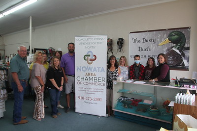 IMG_6729 JPG Dusty Duck September 2020 Business of the Month