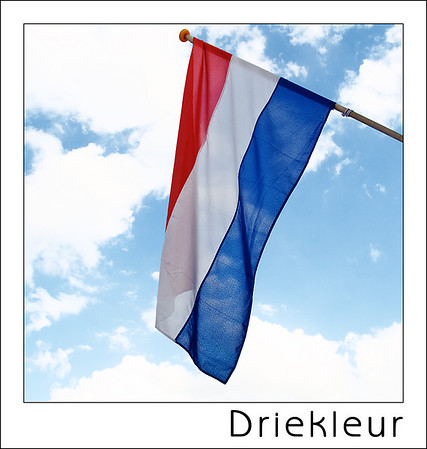 Day 26 - Tricolor  Having a flag is not so special of course but this series would be incomplete without the flag of The Netherlands - http://en.wikipedia.org/wiki/Flag_of_the_Kingdom_of_the_Netherlands