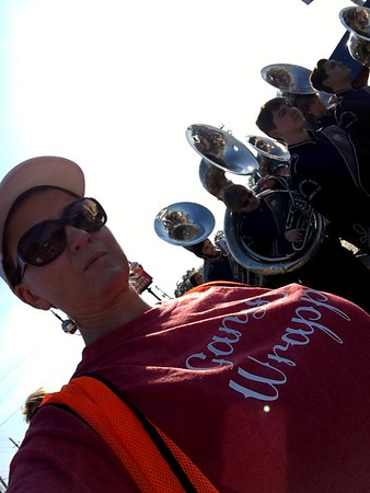 Duthctown Sound in Gonzales Christmas Parade 12-10-16
