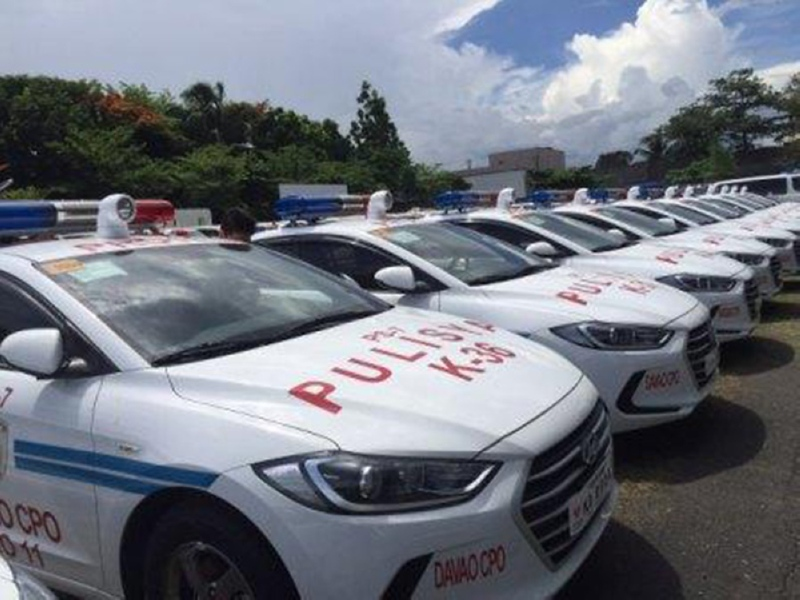 MANILA. The Philippine National Police received on May 29, 2019 a total of 130 patrol vehicles from the South Korean government. (File Photo)