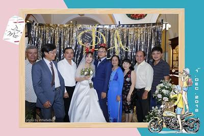 Duy & Mít Wedding Instant Print Photo Booth by WefieBox Photobooth.vn - Chụp hình in ảnh lấy liền Sự kiện & Tiệc cưới trên Toàn Quốc