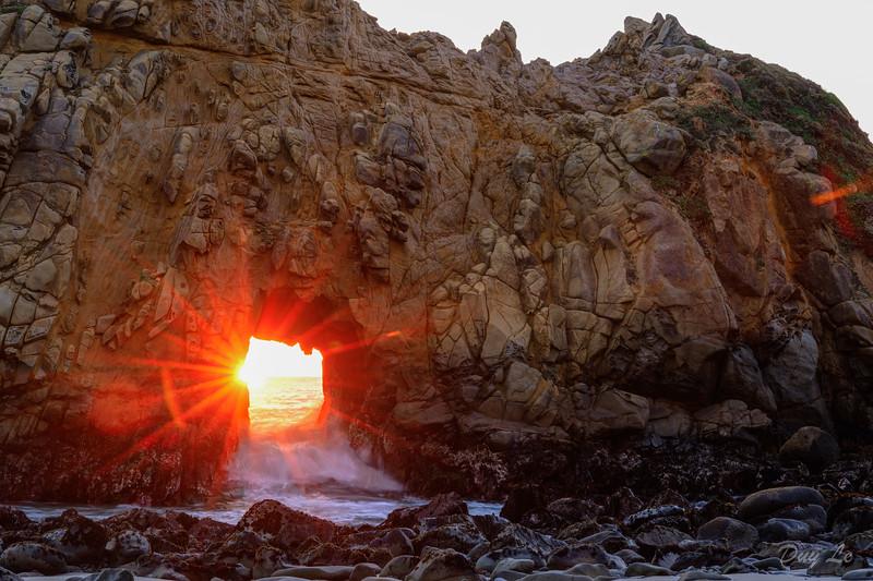 Keyhole Arch, Pfeiffer Beach