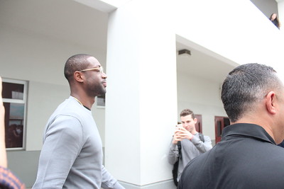 Dwayne Wade Visits MSD