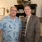 J.R. Royce and Mike Chesser of the St Matthews Chamber.