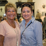 Hazel Sullivan with Anabel Valdez of Anabel\'s Oriental Rug