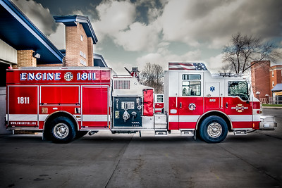 Dwight FD Fleet of Trucks