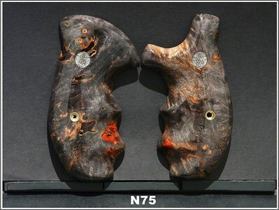 Black Red Burl
