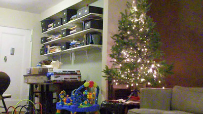 2009.11.29 - Dylan's first Christmas Tree.
