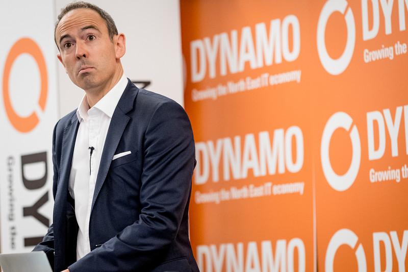 James Ashton comperes Dynamo17